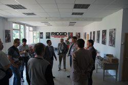 компания Ridgid открыла Московском строительном колледже учебный класс