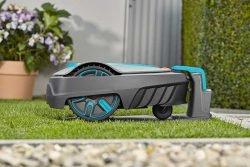 Робот газонокосилка Gardena Sileno city станция зарядная базовая база