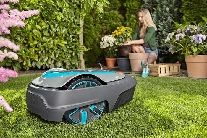 газонокосилка робот Gardena Sileno City