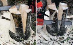 как сделать мебель для сада из массива дерева