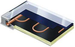 Строение плоского солнечного коллектора