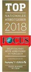 Fischer получил награду Главный национальный работодатель 2018 журнал Focus Германия