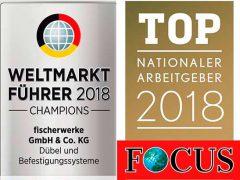 Fischer крепеж 2018 лидер мирового рынка самый известный семейный бизнес Германия