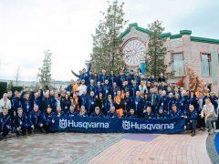 Конференция Husqvarna в Сочи