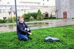 Gardena Sileno City робот газонокосилка отзывы