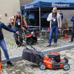 как правильно завести газонокосилку триммер бензопилу
