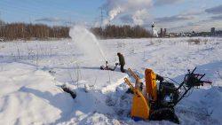снегоуборщиков отзывы Honda HSS снегоуборщик гусенечный