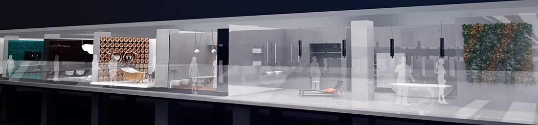 Выставка WorldBuild Moscow 2018 MosBuild Bathroom Biennale ванные комнаты экспозиция