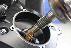 Редуктор привода колёс кослика травокосилка