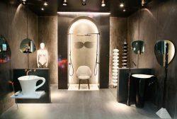 Выставка Batimat Russia 2018 стиль мода интерьер ванных комнат