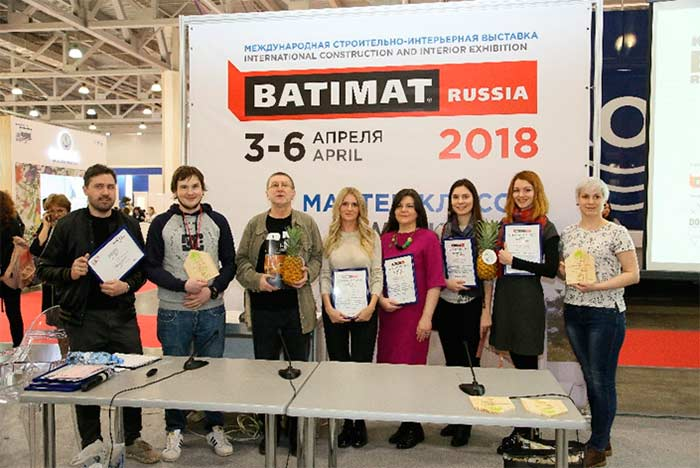 Выставка Batimat Russia 2018 Inside конкурс итоги