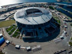 Стадион Санкт Петербург ЧМ футбол 2018 чемпионат мир Fischer анкер крепеж