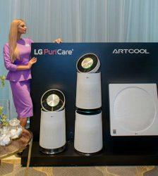 очиститель воздуха кондиционер LG ArtCool Stylist PuriCare