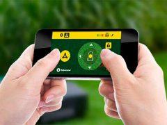 Приложение MyRobomow робот газонокосилка Robomow управление смартфон