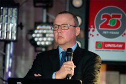 Pubert Жан Пьер Пуберт президент Франция Юнисоо Unisaw конференция 2018
