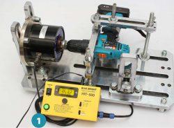 тес измерение жёсткого крутящего момента шуруповёртов
