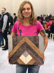 Механические деревянные шестерёнки Катя Мельникова