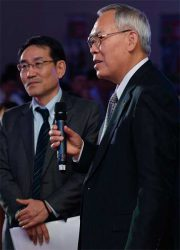 Maruyama Masanobu Ogashira Масанобу Огашира Юнисоо Unisaw конференция 2018 Лидер тренд