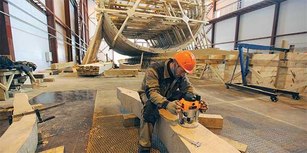 Реконструкция линкора Полтава Лахте