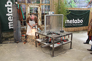 Мировая премьера новинки Metabo Штутгарт Германия 2014 фоторепортаж