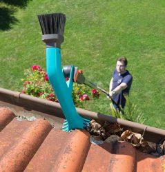 Gardena Гардена очиститель желоб комбисистема насадка водосток