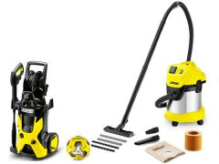 Karcher Football Edition K 5 WD 3 мини мойка пылесос Керхер Premium Car Kärcher Kaercher