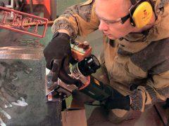 Metabo Метабо KFM 16 15 F фрезер кромочный металл тест кромочник ручной