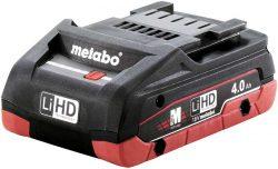 Аккумулятор Metabo Метабо LiHD 4 А ч батарея сильноточная