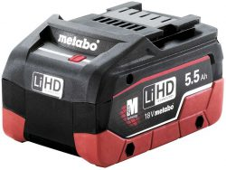 Аккумулятор Metabo Метабо LiHD 5,5 А ч батарея сильноточная
