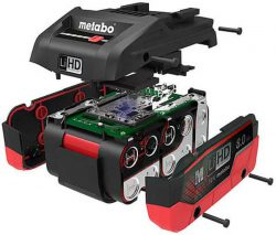 Аккумулятор Metabo LiHD Метабо 4 5,5 8 А*ч батарея сильноточный