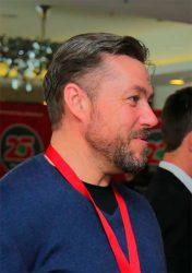 Мэтт Фрост Портсмут футбольный клуб Англия FC Portsmouth England конференция гринкипер 2018 Юнисоо Unisaw Group