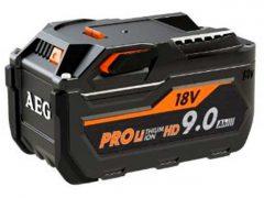 Аккумулятор AEG L1890RHD High Demand HD емкость 9 А ч батарея