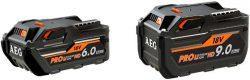 Аккумулятор AEG L1890RHD L1860RHD High Demand HD емкость 9 6 А ч батарея