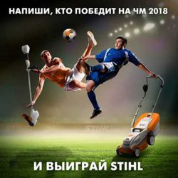 Stihl ЧМ 2018 по футболу кто победит