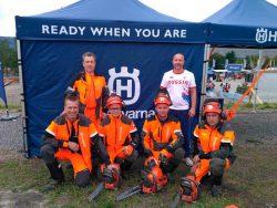 Чемпионат мир вальщик лес 2018 август Лиллехаммер Норвегия сборная России бензопилы Husqvarna