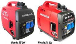 Honda EU 20i 22i отзывы сравнение