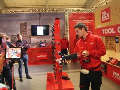 Milwaukee One Key M18 ONESX SawZall цифровая платформа аккумуляторная сабельная пила конференция 2018 Копенгаген