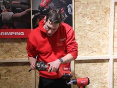 Обжимник Milwaukee M18 HCCT инструмент обжим кабел аккумуляторный гидравлический конференция 2018 Копенгаген