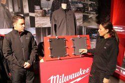 Milwaukee M12 HJ 3IN1 HBW HHGREY куртки жилетки толстовки подогрев M12 ткань GridIron конференция 2018 Копенгаген