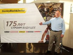 Джонатан Тарр StanleyBlack&Decker 2018 конференция DeWALT