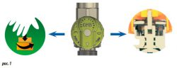 Шаровой кран VAiT газовый многофункциональный Push & Turn защита случайного открытия