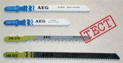 AEG Тест пилки электролобзики