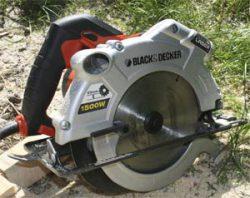 Black&Decker KS 1500 L тест дисковая электропила