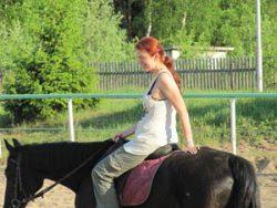Малинки, покатушки на лошадях
