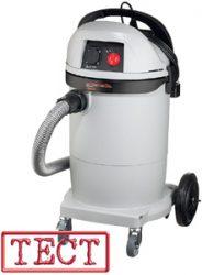 Промышленные пылесосы Интерскол ПУ-32/1200 / ПУ-45/1400, тест