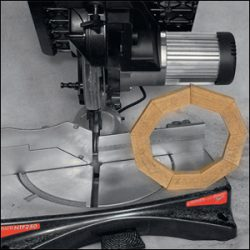 Тест Felisatti NTF250RI комбинированная торцовочно-усовочная циркулярная пила