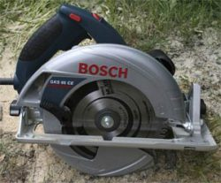 Bosch GKS 65 CE Professional тест дисковая электропила