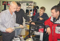 Виктор Данилов Briggs&Stratton интервью региональный менеджер техническому сервису компании России СНГ
