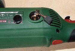 Тест DWT WS 230 TT двуручная углошлифовальная машина УШМ