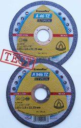 A 946 46 TZ Special абразивные отрезные круги диски